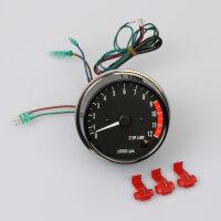 Drehzahlmesser elektronisch mit Stoplicht für...