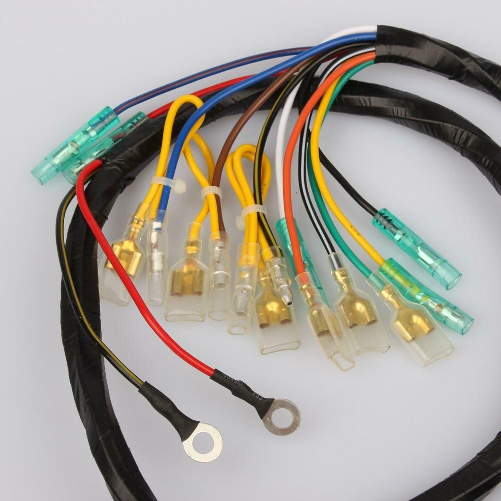 Main wiring harness for Kawasaki H1 500 KH 500 # 26001-031, 107,50 €www.bikeparts-vintage.de