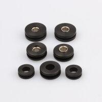Batteriekasten Gummidämpfer Set für Kawasaki Z 900 1000 ZX-6R ZX-10R # 92075-161