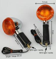 Blinker-Set Kawasaki BN 125 ZR 550 750 1100 W 650 23037-1279 23037-1280