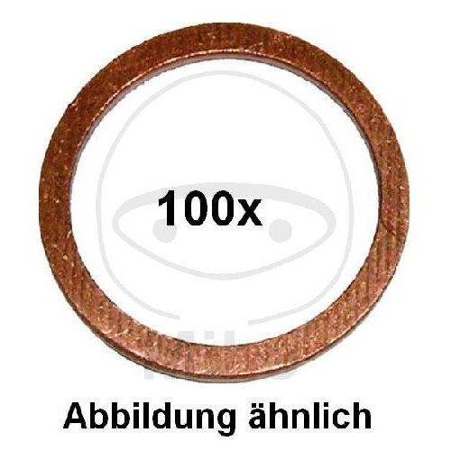 Solid copper sealing ring 16X20X1.5 for BMW C 650 GT R 850 GS R 1150 GS