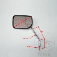 Spiegel chrom links JMP für Honda CBF CB 500 600