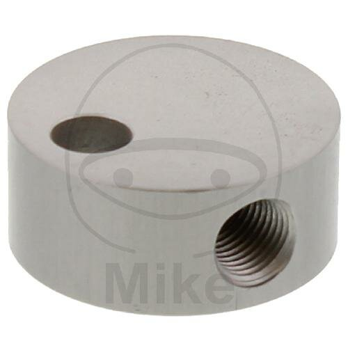 3-way distributor screwed TYPE 834 3/8 UNF silver