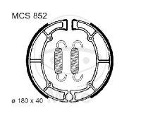 Bremsbacken mit Feder für Kawasaki EN 450 500 GT ZR 550 VN 750 800 Z 400 550 650 750 ZL 600