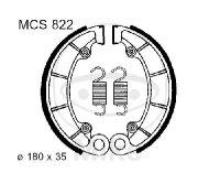 Bremsbacken mit Feder für Honda PC 800 TRX 500 VF 750 VT 750 1100