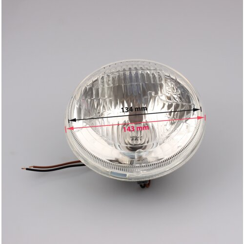 Reflector Lamp Headlights Simson S50 S51 S53 S70 S83 H4 Insert 5  130/140 mm